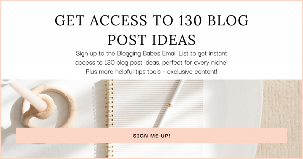 Get Access To 130 Blog Post Ideas